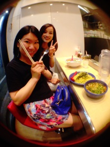 Kaori and Maki